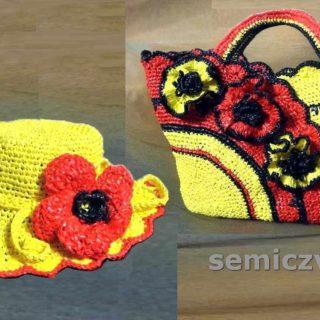 Декор комплекта своими руками: сумки для пляжа и шляпы с полями от солнца