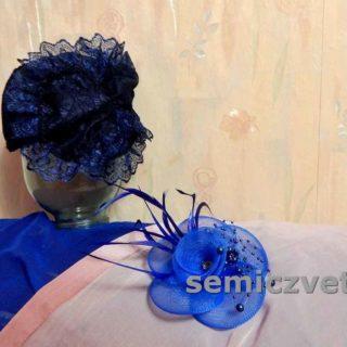 Заготовка шляпки на праздник и брошь-цветок своими руками