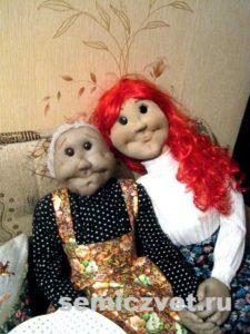 Деревенский фольклор. Ростовые куклы своими руками