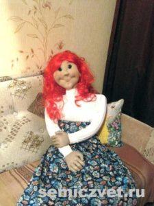 Ростовая кукла Маруся своими руками