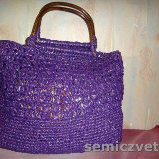Мягкая оригинальная сумка своими руками