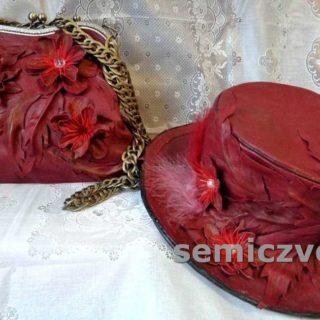 Изготовление женской сумки через плечо и модной шляпы из кожи своими руками