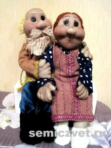 Ростовые куклы: Дедушка и Бабушка своими руками