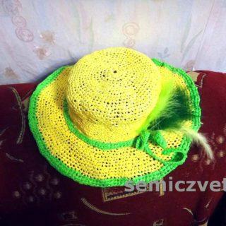 Шляпа с полями своими руками из подручных материалов