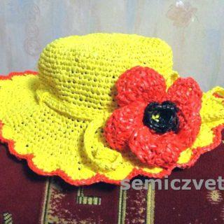 Шляпа с полями из подручных материалов своими руками