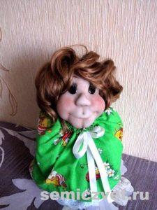 Кукла-грелка на заварочный чайник своими руками