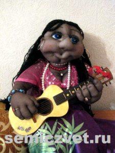 Ростовая кукла цыганка своими руками