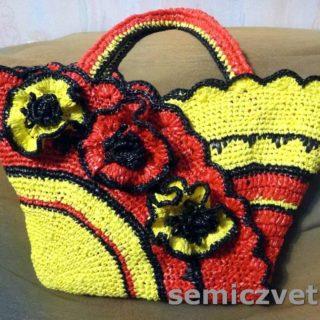 Модная сумка своими руками. Как украсить сумку
