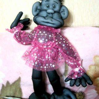 Ростовая кукла обезьяна своими руками
