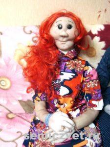 Деревенский фольклор. Ростовая кукла красавица своими руками
