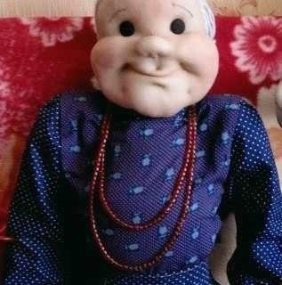 Деревенский фольклор - Ростовая кукла бабушка своими руками