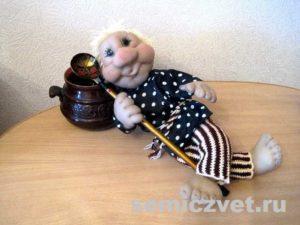 Ростовая кукла Домовой своими руками