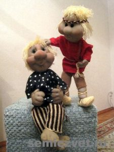 Ростовые куклы своими руками