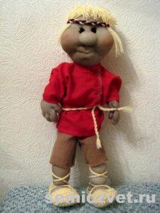 Ростовая кукла - парень своими руками