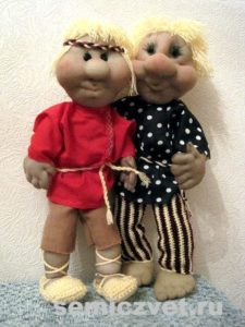 Ростовые куклы - Мальчишки своими руками