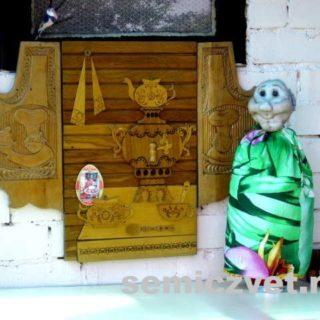 Деревенский фольклор. Кукла-грелка на чайник своими руками