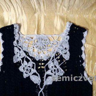 Декор вязаной одежды