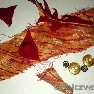 Заготовки для Детской Перчаточной Куклы-варежки «Лисичка»