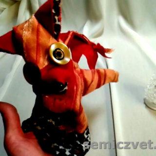 Детская Перчаточная Кукла-варежка «Лисичка»