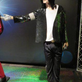 Майкл Джексон — король поп-музыки. Музей восковых фигур Луи Тюссо