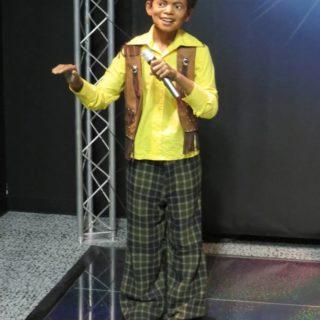 Майкл Джексон в детстве. Музей восковых фигур Луи Тюссо