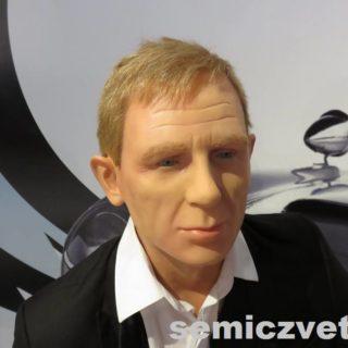 Актёр Дэниел Крэйг. Музей восковых фигур Луи Тюссо
