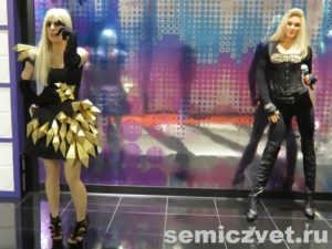 Леди Гага и Мадонна. Музей восковых фигур Луи Тюссо