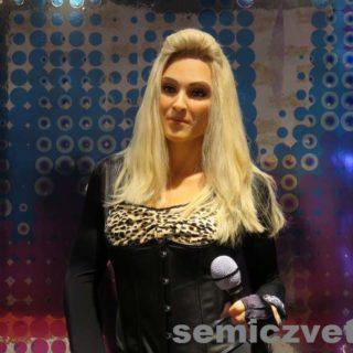 Певица Мадонна. Музей восковых фигур Луи Тюссо