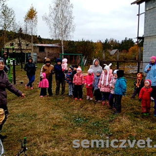 Открытие детской площадки. Детский праздник