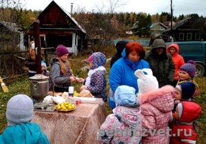 Современный Детский праздник в посёлке