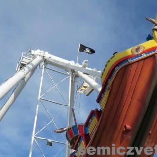 Воздушный аттракцион «Пират». Фэйр Парк, Даллас