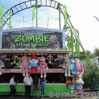 Тир «Попади в Зомби». Фэйр Парк, Даллас