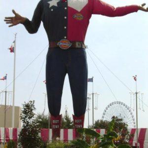 Самый Большой Техасец. Фэйр Парк, Даллас. Фото 2005г.