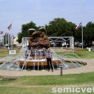 Мемориальный фонтан Сидни Смит, Фэйр Парк, Даллас