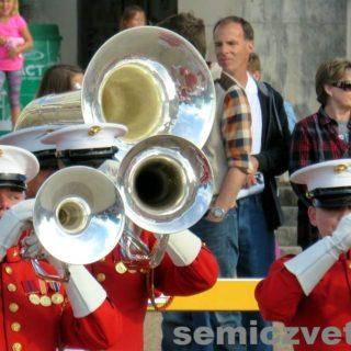 Духовой оркестр корпуса морской пехоты США. Фэйр Парк, Даллас