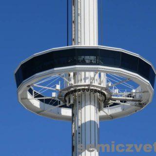 Вращающаяся платформа Башни Обозрения. Фэйр Парк, Даллас