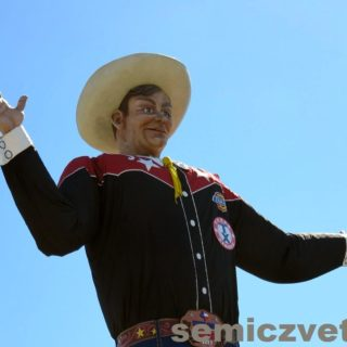 Добро пожаловать на Ярмарку штата Техас! (Big Tex)