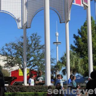 Вид на Башню Обозрения. Фэйр парк, Даллас