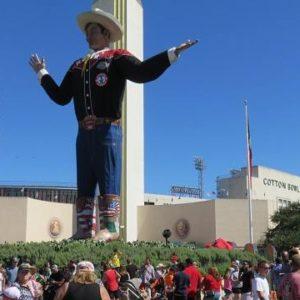 Большой Техасец - Big Tex. Фэйр Парк, Даллас