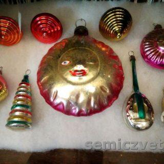 Выставка старинных ёлочных игрушек. Музей истории Екатеринбурга