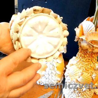 Работаем с морскими ракушками