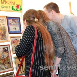 Выставка картин прессованной флористики. г.Ейск