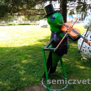 А.Петрушко «Джазмен со скрипкой». Екатеринбург, ЛОМ-2017