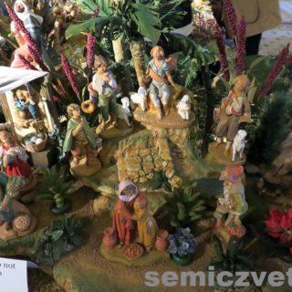 Рождественские статуэтки. Выставка «Рождество Христово в искусстве». Даллас. Техас