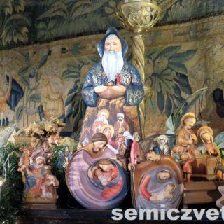Деревянные фигуры. Выставка «Рождество Христово в искусстве». Даллас. Техас
