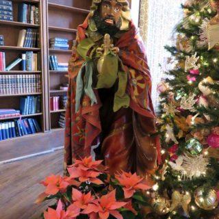 Волхв Мельхиор. Выставка «Рождество Христово в искусстве». Даллас. Техас