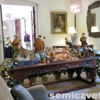 Особняк ДеГольер. Выставка «Рождество Христово в искусстве». Даллас. Техас
