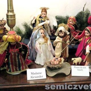 Куклы «Мадам Александер». Выставка «Рождество Христово в искусстве». Даллас. Техас