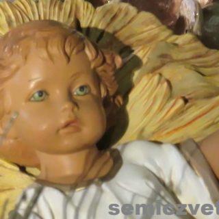 Младенец Иисус Христос. Выставка «Рождество Христово в искусстве». Даллас. Техас