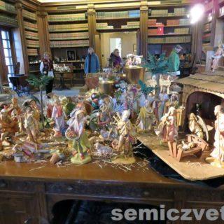 Рождественские скульптуры. Выставка «Рождество Христово в искусстве». Даллас. Техас